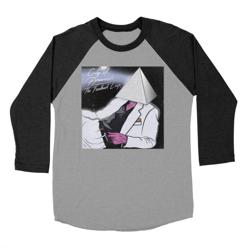 City of Pyramids - The Feedback Loop Women's Baseball Triblend Longsleeve T-Shirt by City of Pyramids's Artist Shop