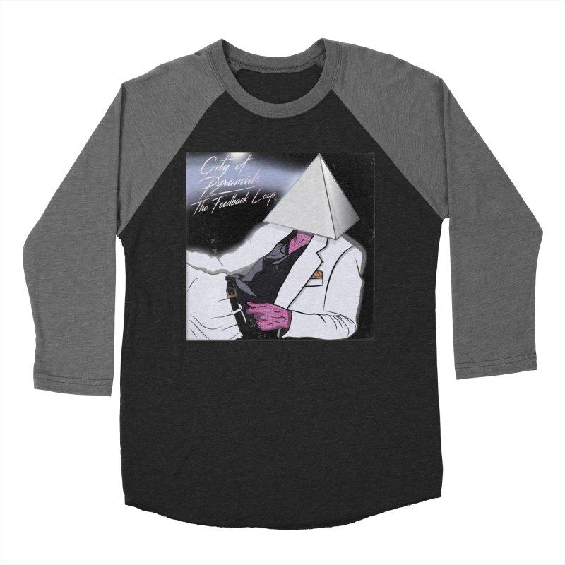 City of Pyramids - The Feedback Loop Men's Baseball Triblend Longsleeve T-Shirt by City of Pyramids's Artist Shop