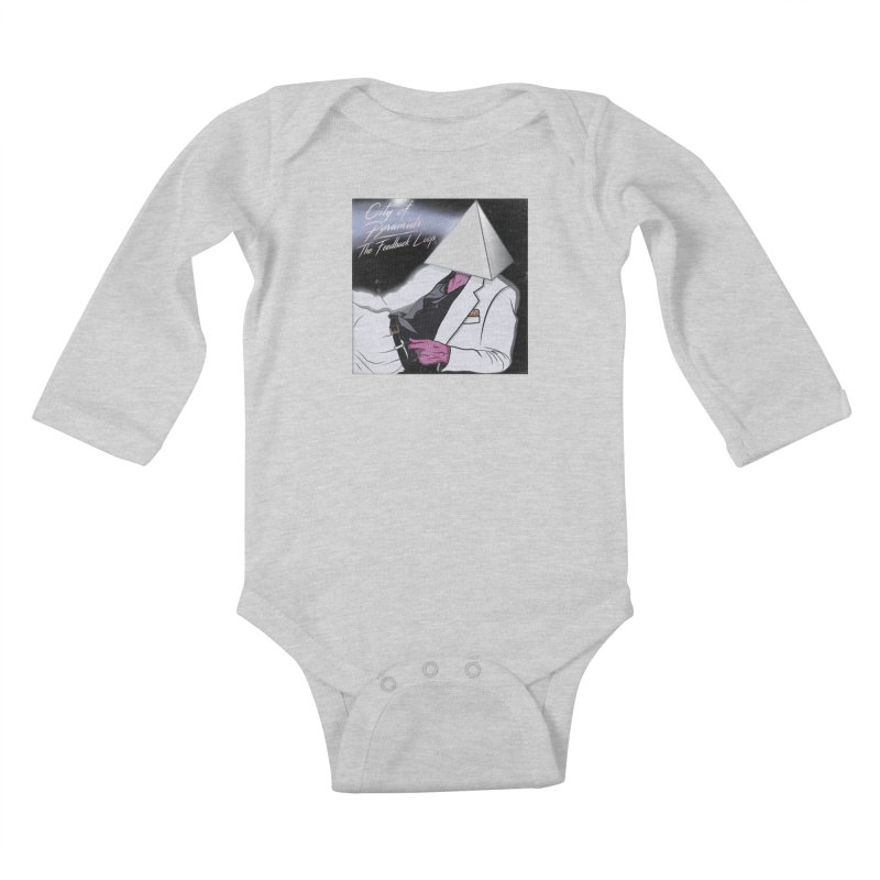 City of Pyramids - The Feedback Loop Kids Baby Longsleeve Bodysuit by City of Pyramids's Artist Shop