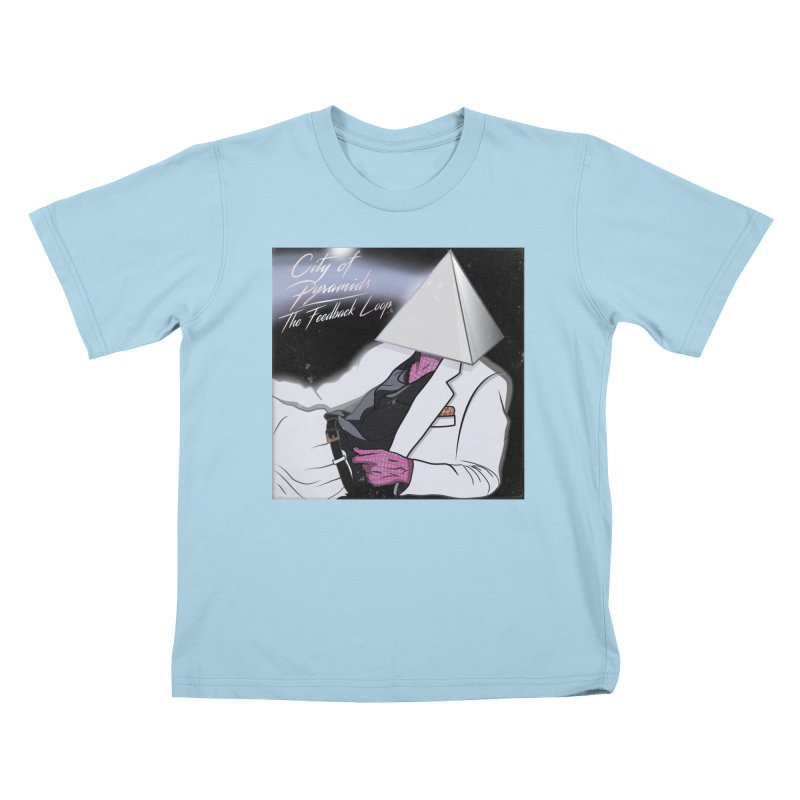 City of Pyramids - The Feedback Loop Kids T-Shirt by City of Pyramids's Artist Shop