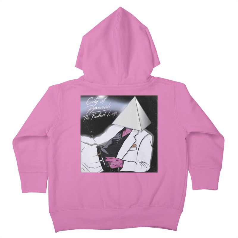 City of Pyramids - The Feedback Loop Kids Toddler Zip-Up Hoody by City of Pyramids's Artist Shop
