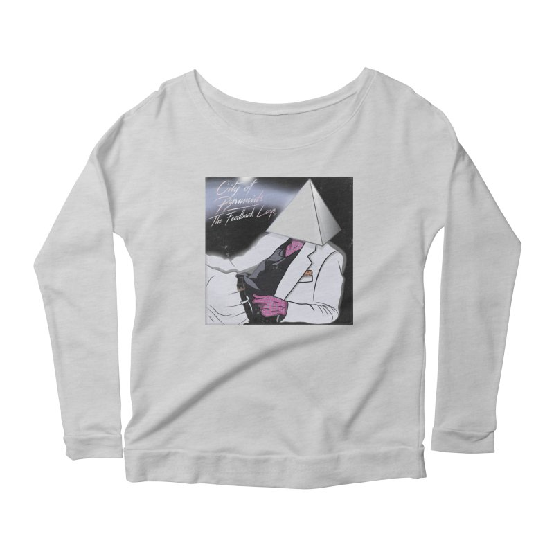 City of Pyramids - The Feedback Loop Women's Scoop Neck Longsleeve T-Shirt by City of Pyramids's Artist Shop