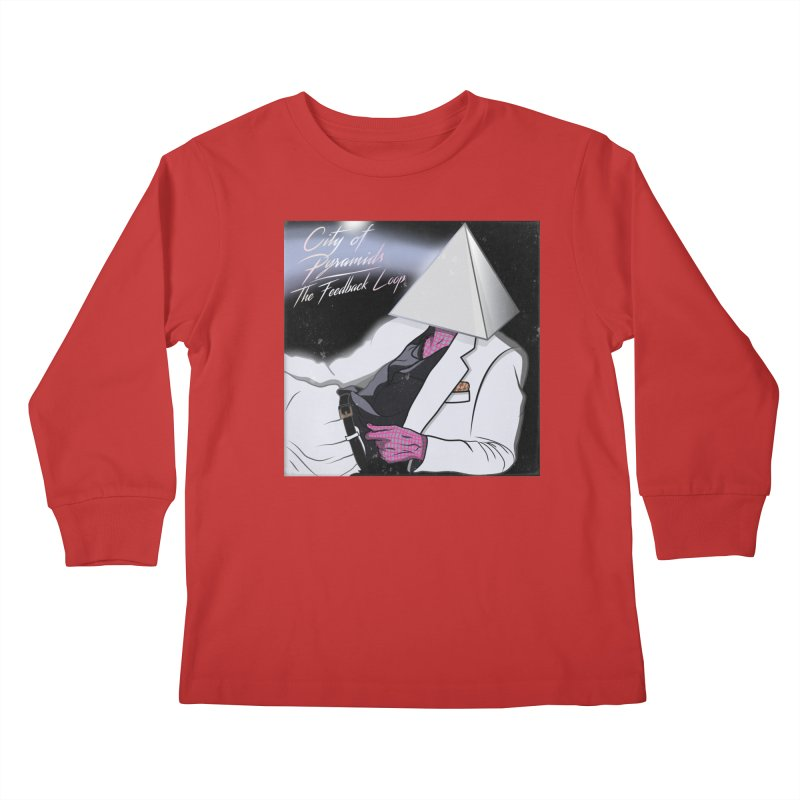 City of Pyramids - The Feedback Loop Kids Longsleeve T-Shirt by City of Pyramids's Artist Shop