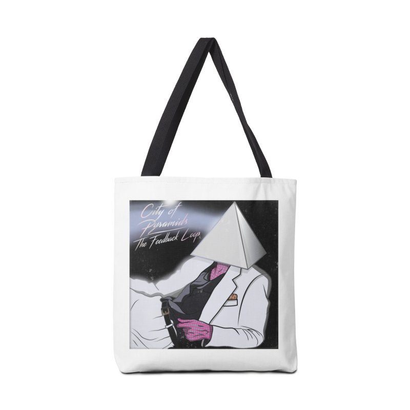 City of Pyramids - The Feedback Loop Accessories Tote Bag Bag by City of Pyramids's Artist Shop
