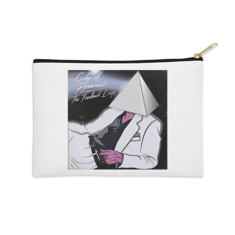City of Pyramids - The Feedback Loop Accessories Zip Pouch by City of Pyramids's Artist Shop
