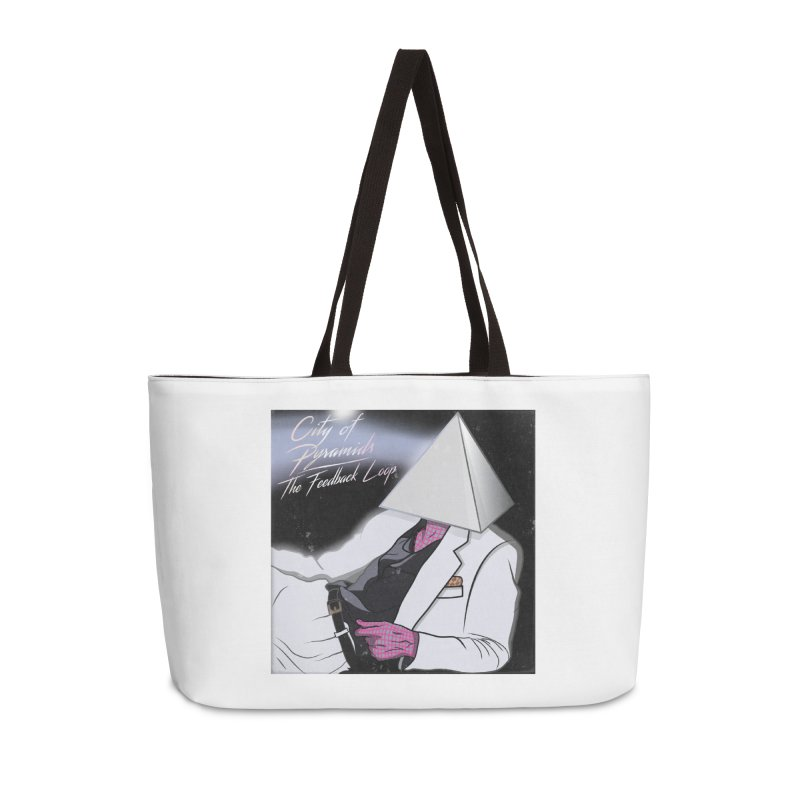 City of Pyramids - The Feedback Loop Accessories Weekender Bag Bag by City of Pyramids's Artist Shop