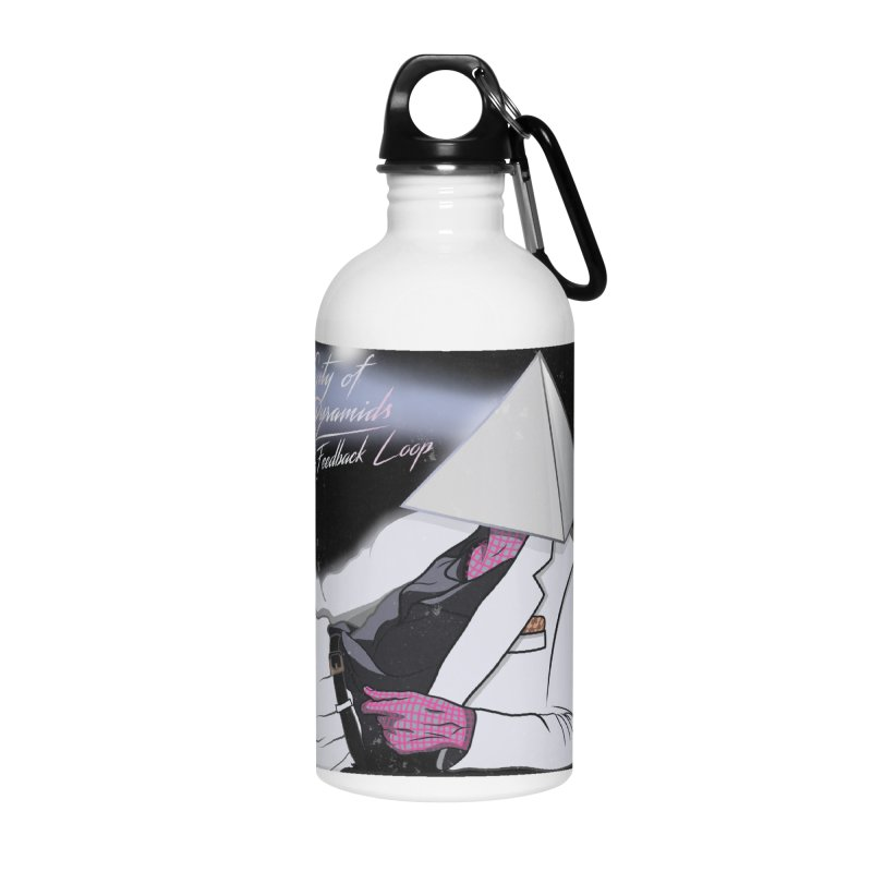 City of Pyramids - The Feedback Loop Accessories Water Bottle by City of Pyramids's Artist Shop