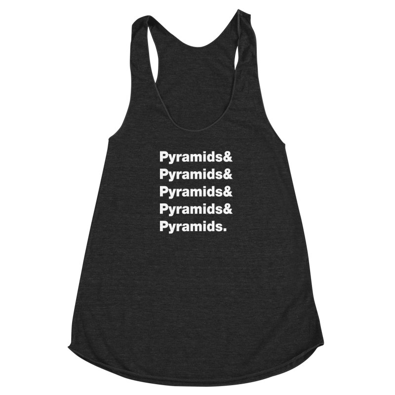 Pyramids & Pyramids Women's Racerback Triblend Tank by City of Pyramids's Artist Shop