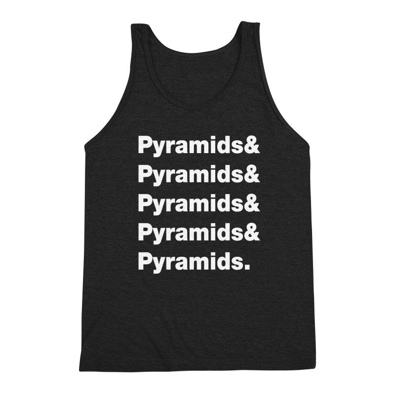 Pyramids & Pyramids Men's Triblend Tank by City of Pyramids's Artist Shop