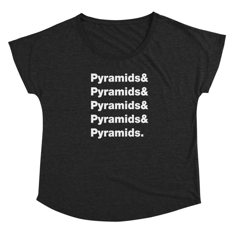 Pyramids & Pyramids Women's Scoop Neck by City of Pyramids's Artist Shop