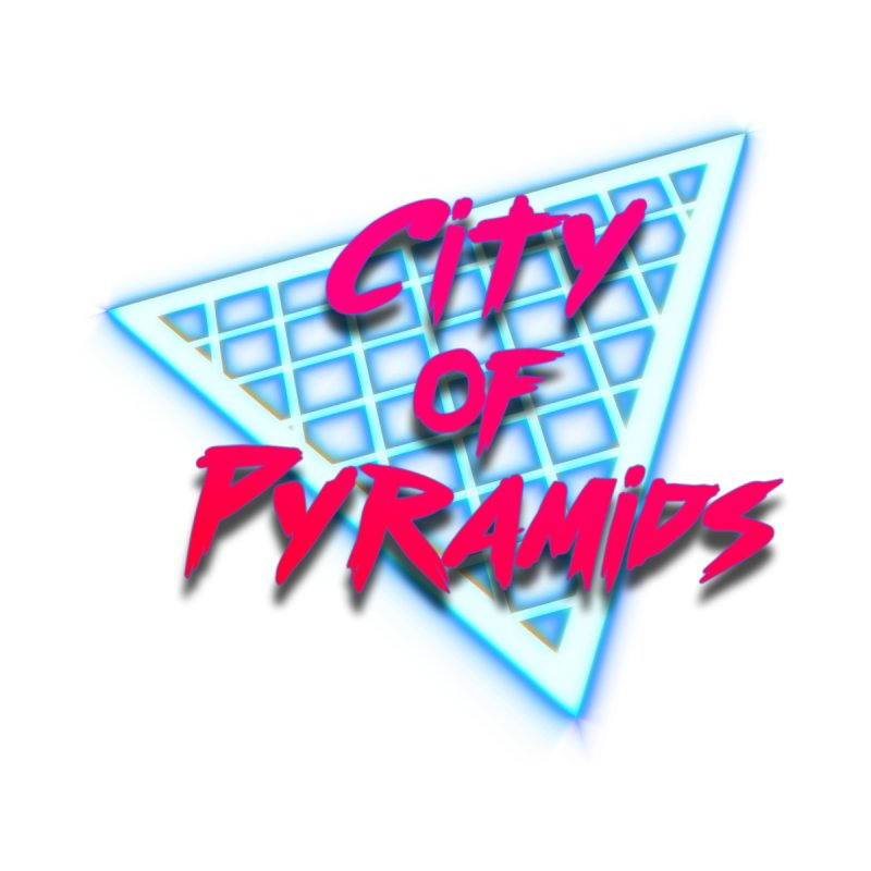 City of Pyramids - Grid Home Bath Mat by City of Pyramids's Artist Shop