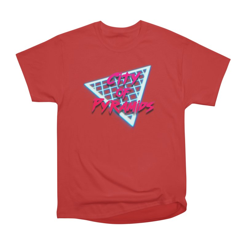 City of Pyramids - Grid Men's Heavyweight T-Shirt by City of Pyramids's Artist Shop