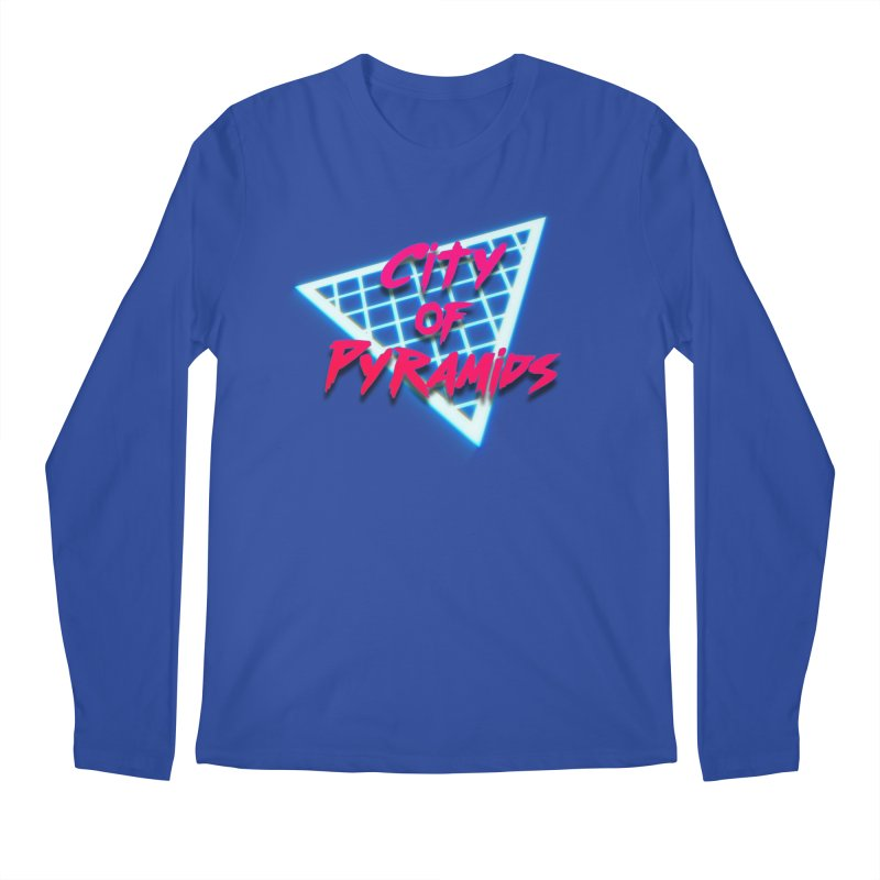 City of Pyramids - Grid Men's Regular Longsleeve T-Shirt by City of Pyramids's Artist Shop