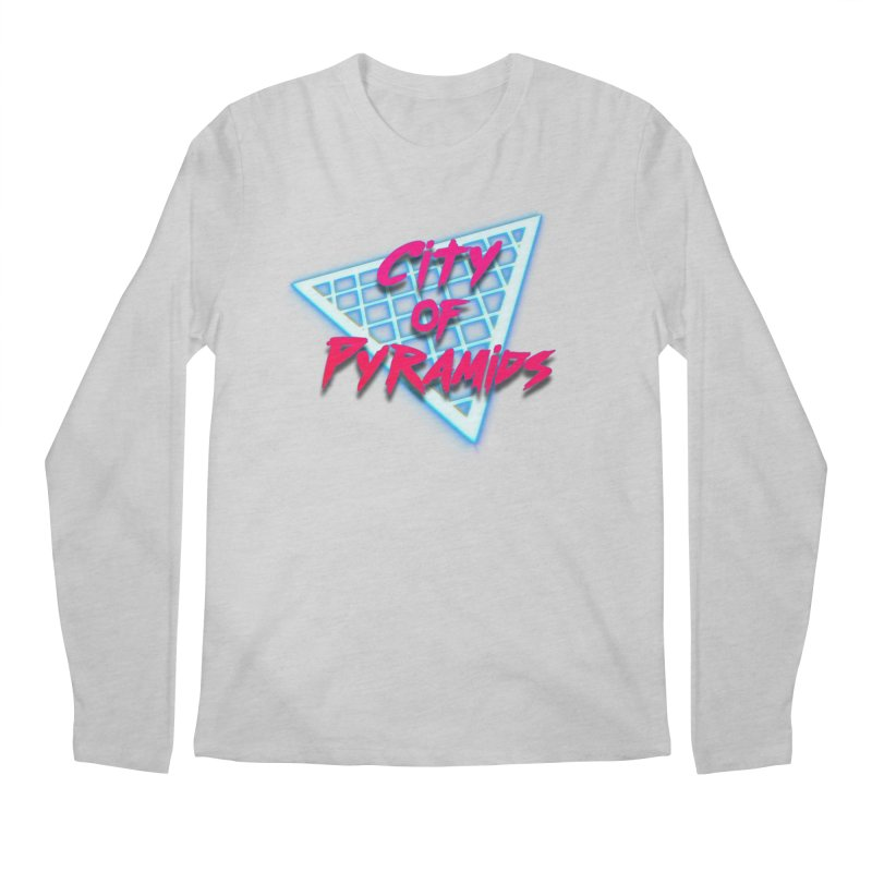 City of Pyramids - Grid Men's Regular Longsleeve T-Shirt by City of Pyramids's Artist Shop