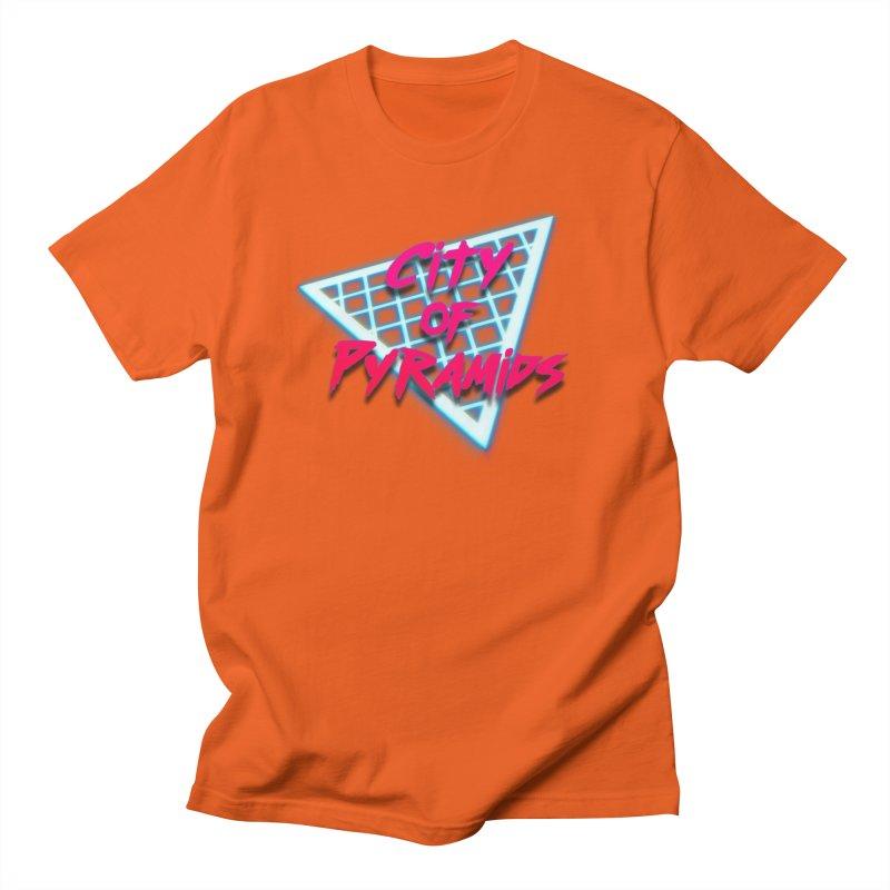 City of Pyramids - Grid Men's Regular T-Shirt by City of Pyramids's Artist Shop