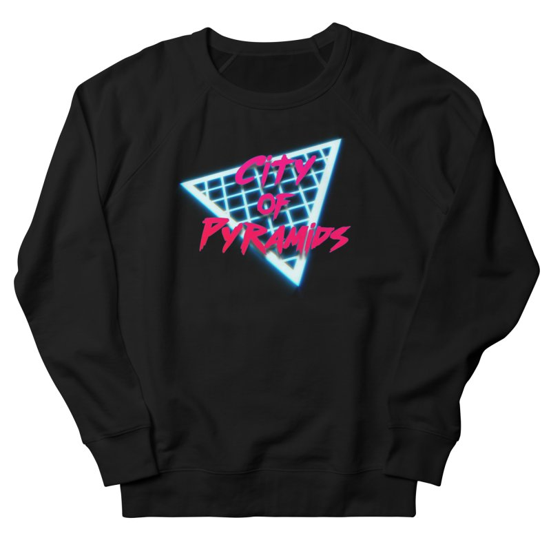 City of Pyramids - Grid Men's French Terry Sweatshirt by City of Pyramids's Artist Shop