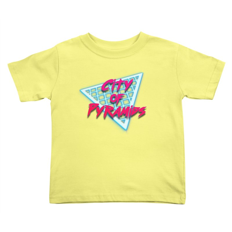 City of Pyramids - Grid Kids Toddler T-Shirt by City of Pyramids's Artist Shop