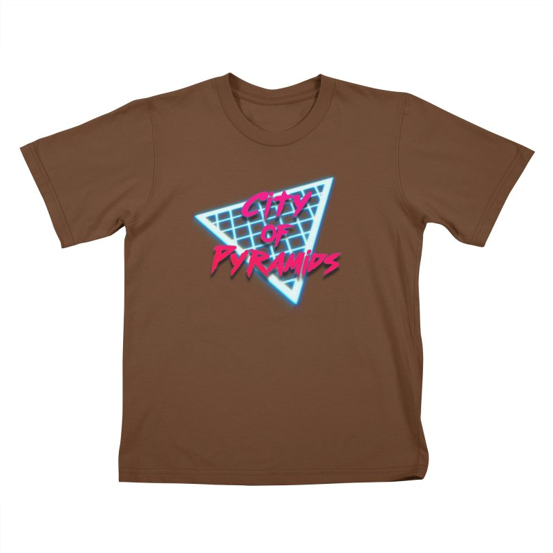 City of Pyramids - Grid Kids T-Shirt by City of Pyramids's Artist Shop