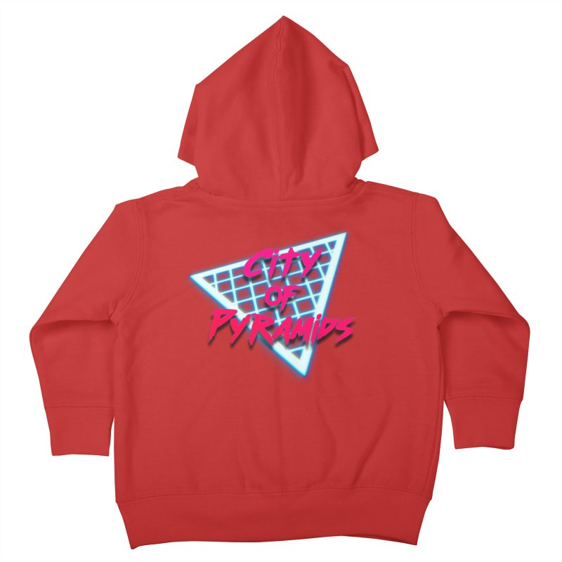 City of Pyramids - Grid Kids Toddler Zip-Up Hoody by City of Pyramids's Artist Shop
