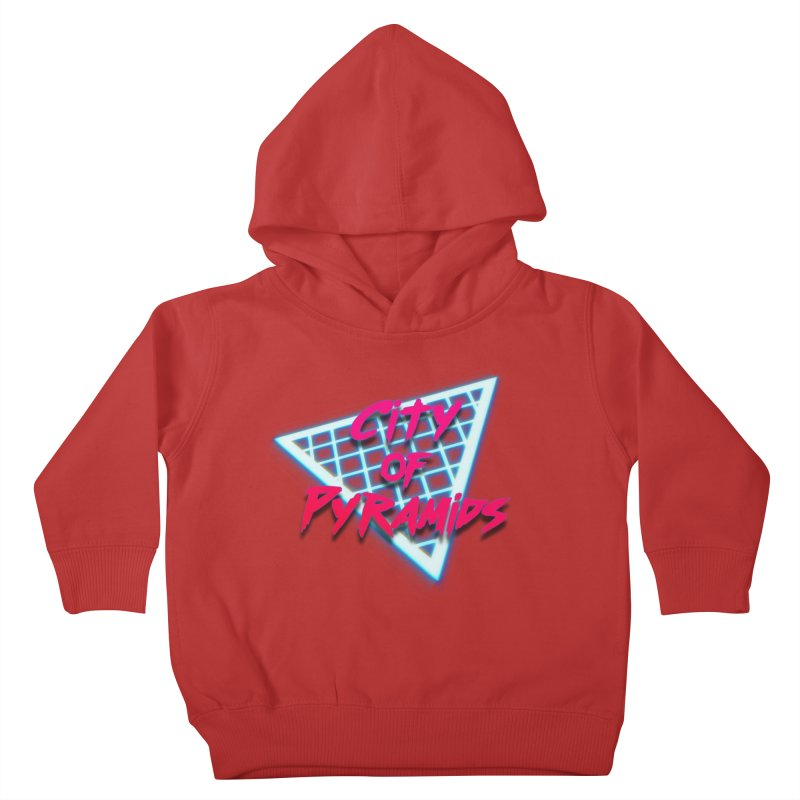 City of Pyramids - Grid Kids Toddler Pullover Hoody by City of Pyramids's Artist Shop