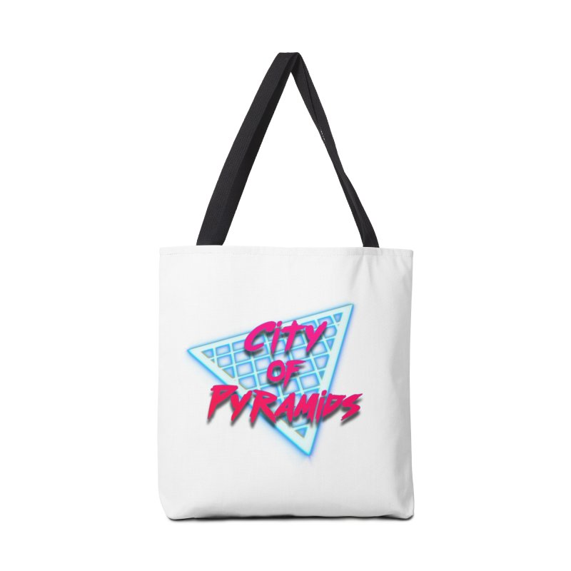 City of Pyramids - Grid Accessories Tote Bag Bag by City of Pyramids's Artist Shop