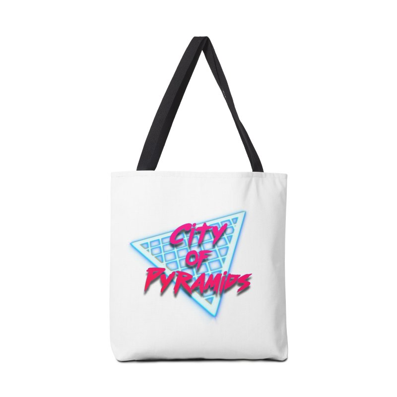 City of Pyramids - Grid Accessories Bag by City of Pyramids's Artist Shop