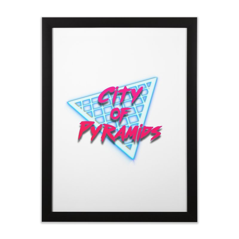 City of Pyramids - Grid Home Framed Fine Art Print by City of Pyramids's Artist Shop