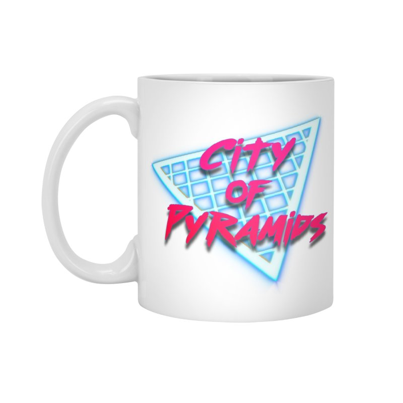City of Pyramids - Grid Accessories Standard Mug by City of Pyramids's Artist Shop