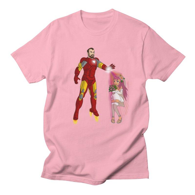 KRIEGER - ARCHER in Men's Regular T-Shirt Light Pink by City of Pyramids's Artist Shop