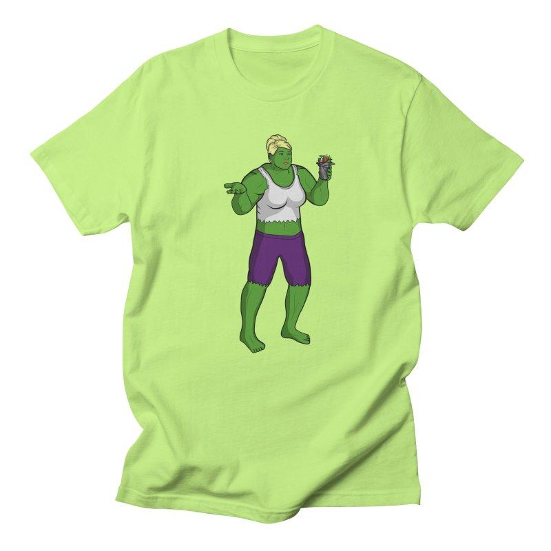 PAM - ARCHER in Men's Regular T-Shirt Neon Green by City of Pyramids's Artist Shop