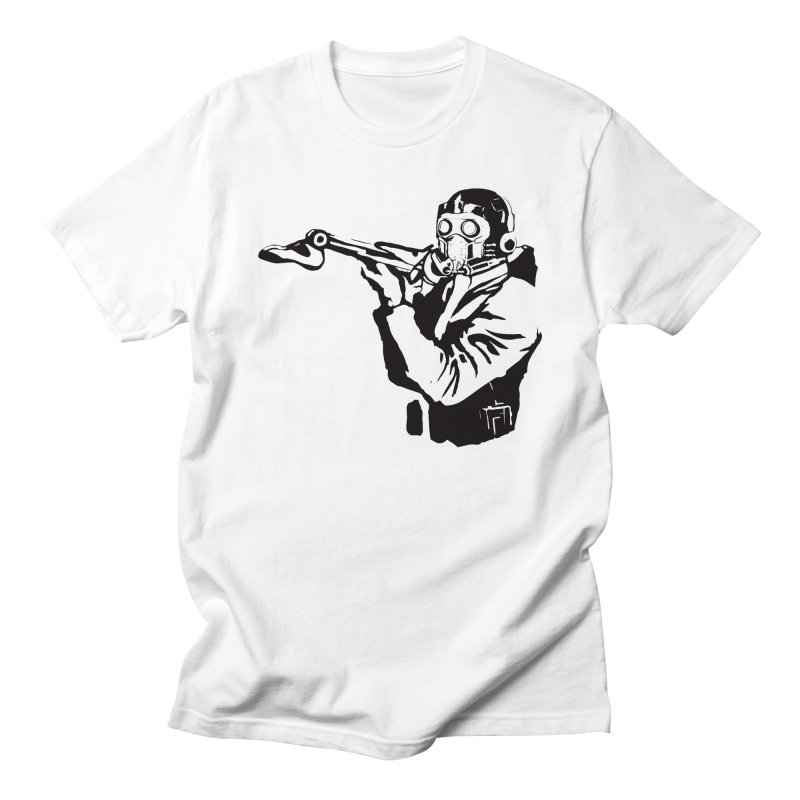 THE FAKE LEG - BANKSY MASHUP in Men's Regular T-Shirt White by City of Pyramids's Artist Shop