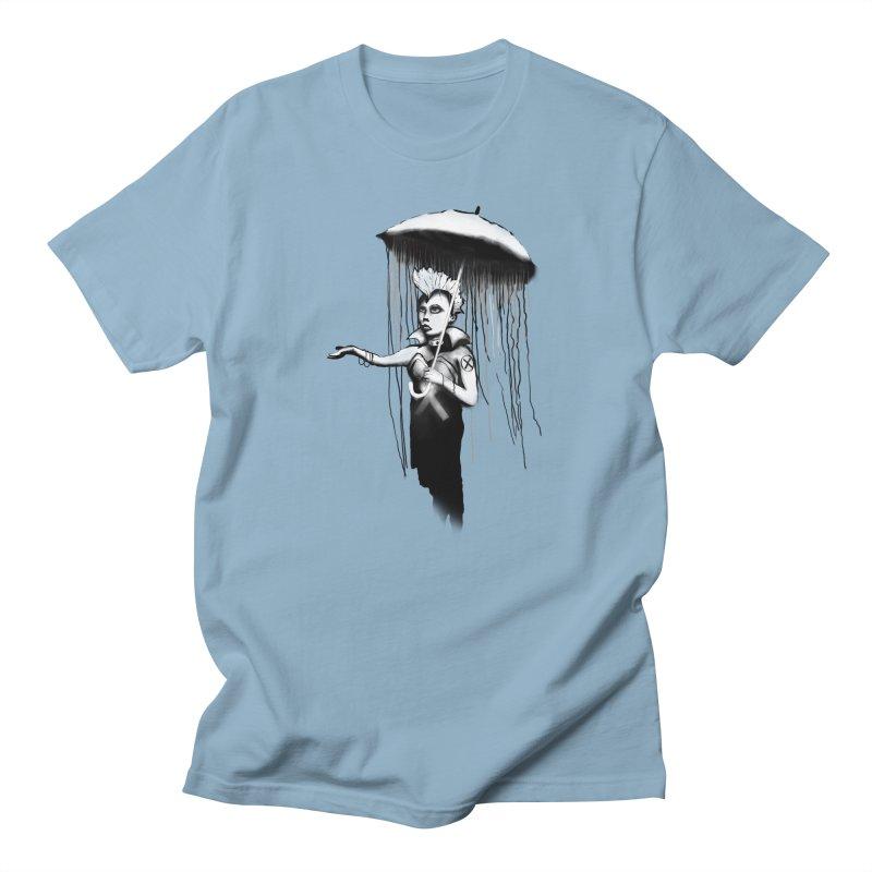 RAINSTORM - BANKSY MASHUP Men's T-Shirt by City of Pyramids's Artist Shop