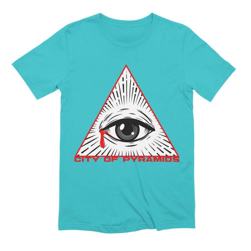 Eyeconic Tears Men's T-Shirt by City of Pyramids's Artist Shop