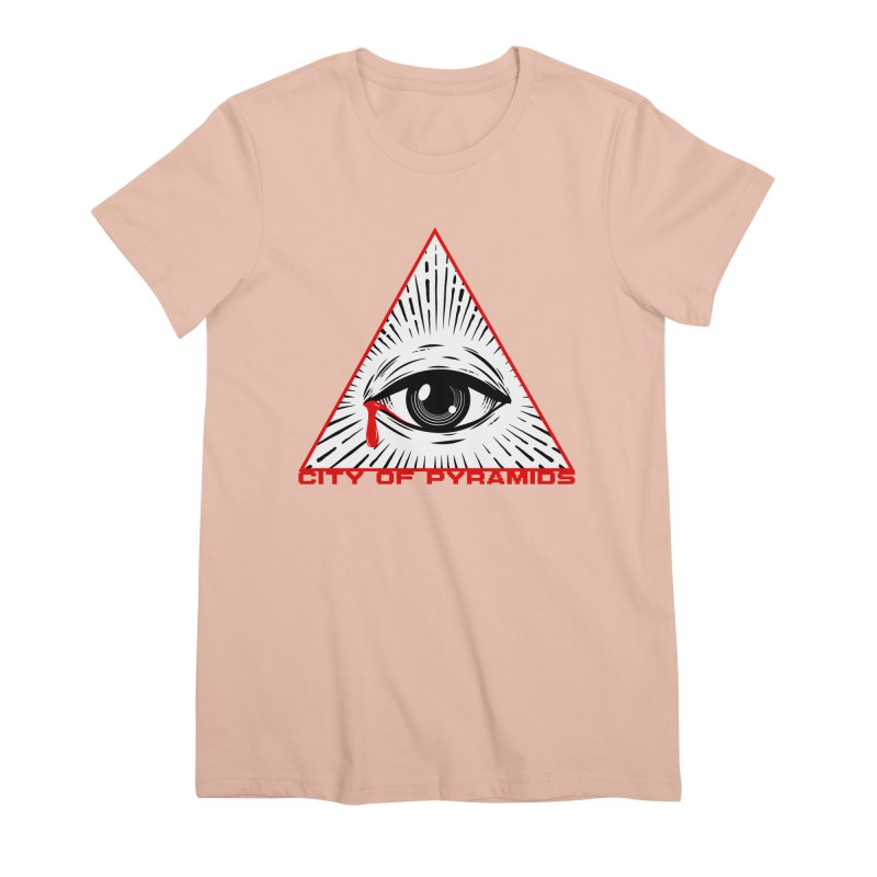 Eyeconic Tears Women's Premium T-Shirt by City of Pyramids's Artist Shop