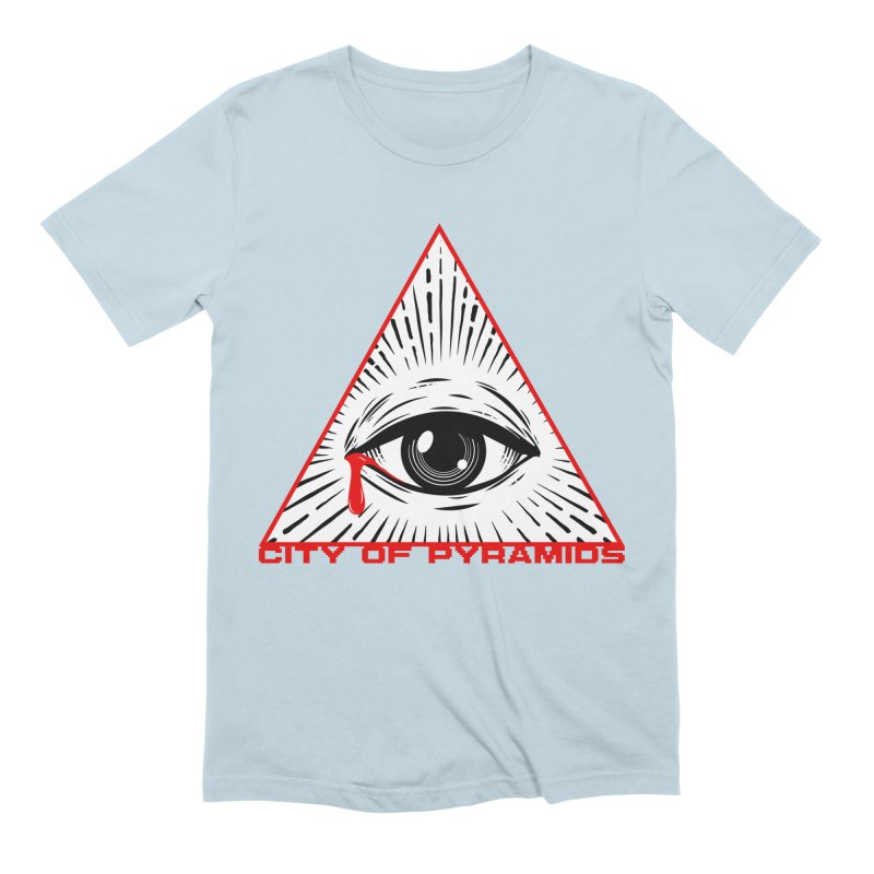 Eyeconic Tears Men's T-Shirt by City of Pyramids's Artist Shop