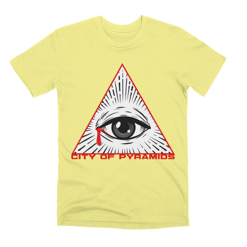 Eyeconic Tears Men's Premium T-Shirt by City of Pyramids's Artist Shop