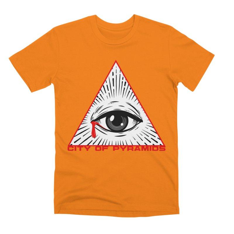 Eyeconic Tears Men's Premium T-Shirt by City of Pyramids's Artist Shop