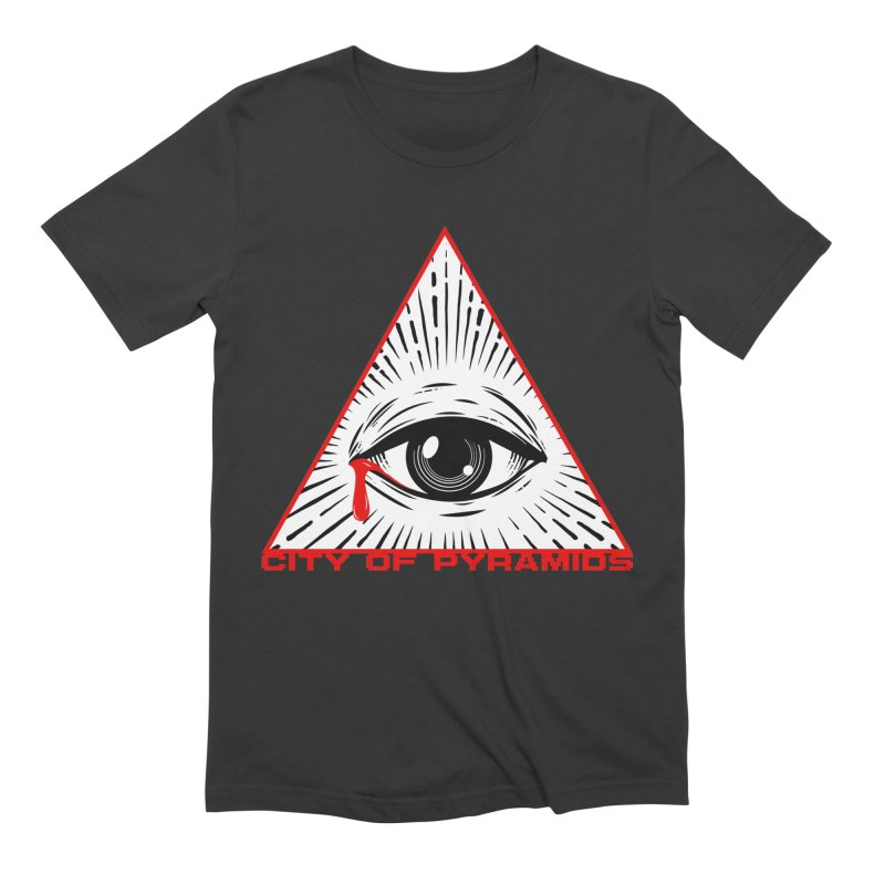 Eyeconic Tears Men's Extra Soft T-Shirt by City of Pyramids's Artist Shop