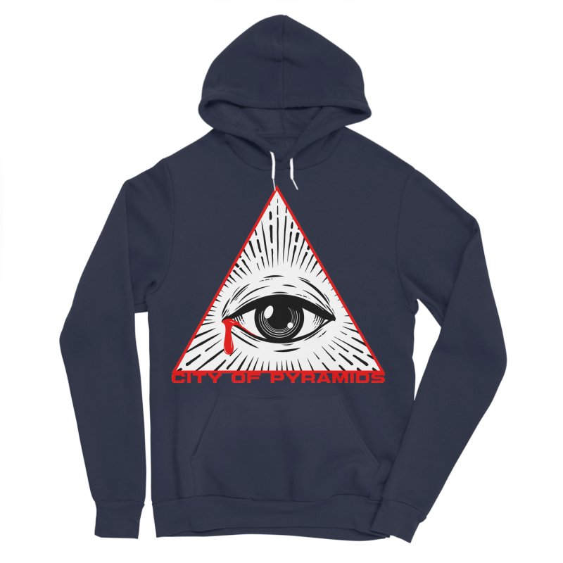 Eyeconic Tears Women's Sponge Fleece Pullover Hoody by City of Pyramids's Artist Shop