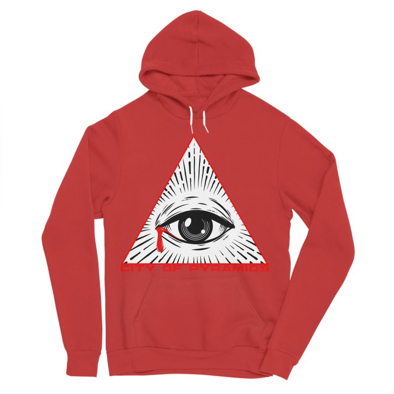 Eyeconic Tears Men's Pullover Hoody by City of Pyramids's Artist Shop
