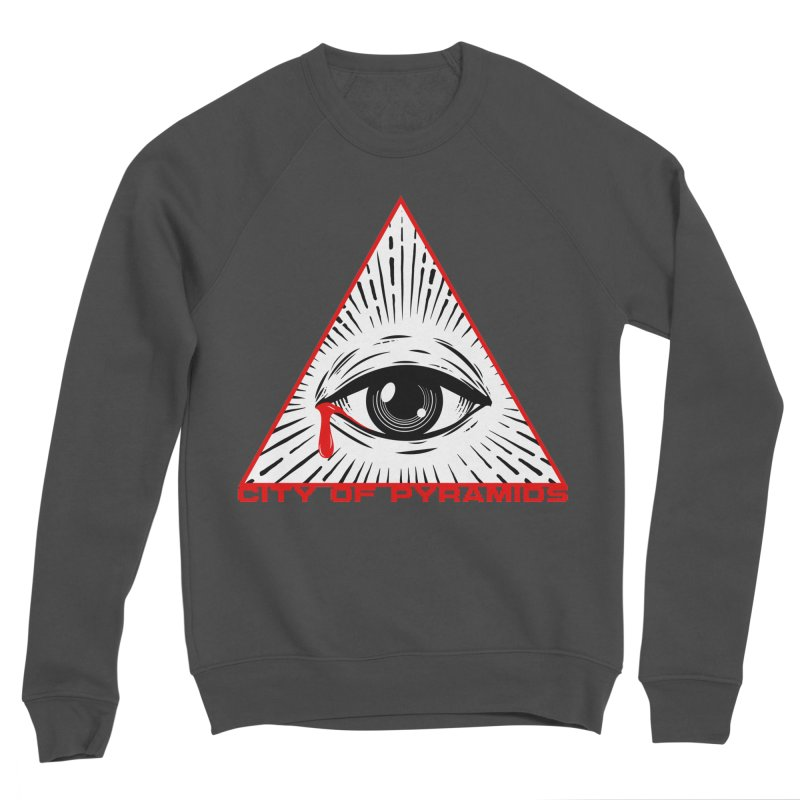 Eyeconic Tears Men's Sponge Fleece Sweatshirt by City of Pyramids's Artist Shop