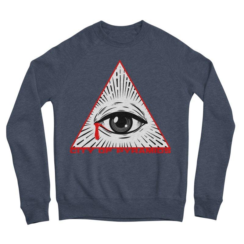 Eyeconic Tears Women's Sponge Fleece Sweatshirt by City of Pyramids's Artist Shop