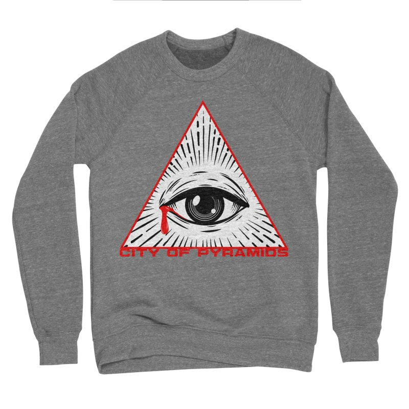 Eyeconic Tears Women's Sponge Fleece Sweatshirt by City of Pyramids's Artist Shop