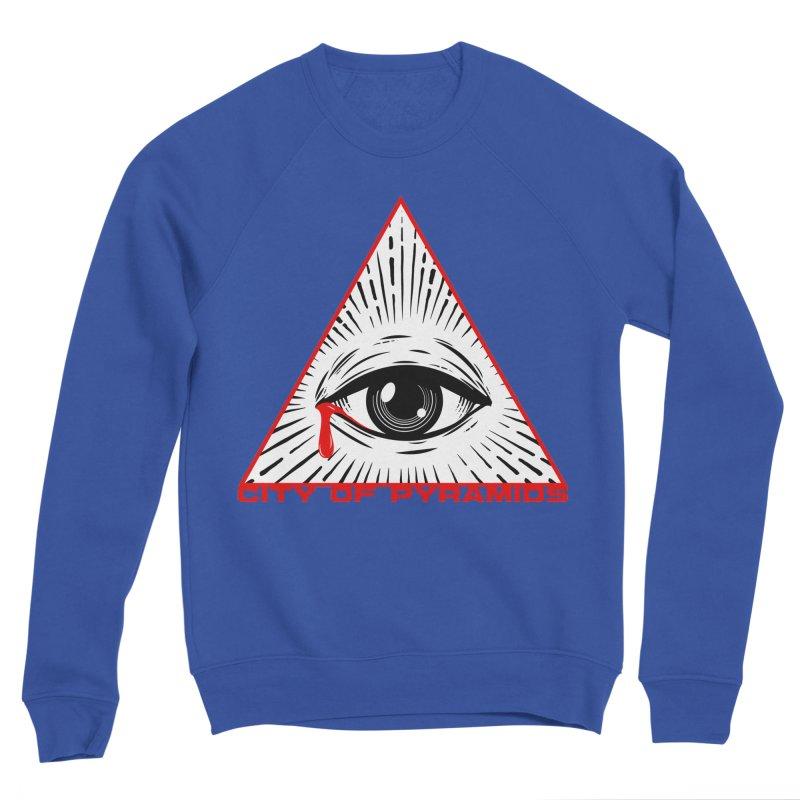 Eyeconic Tears Men's Sponge Fleece Sweatshirt by City of Pyramids's Artist Shop