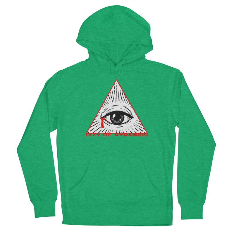 Eyeconic Tears Women's Pullover Hoody by City of Pyramids's Artist Shop