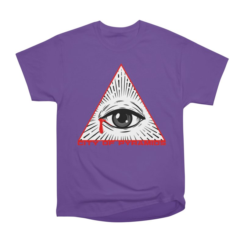 Eyeconic Tears Men's Heavyweight T-Shirt by City of Pyramids's Artist Shop