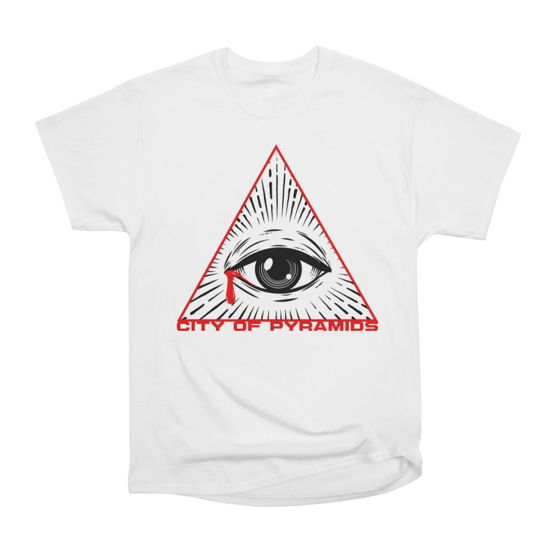 Eyeconic Tears Women's Heavyweight Unisex T-Shirt by City of Pyramids's Artist Shop