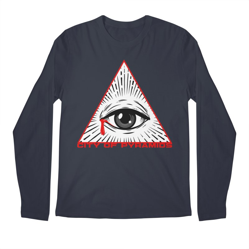Eyeconic Tears Men's Regular Longsleeve T-Shirt by City of Pyramids's Artist Shop
