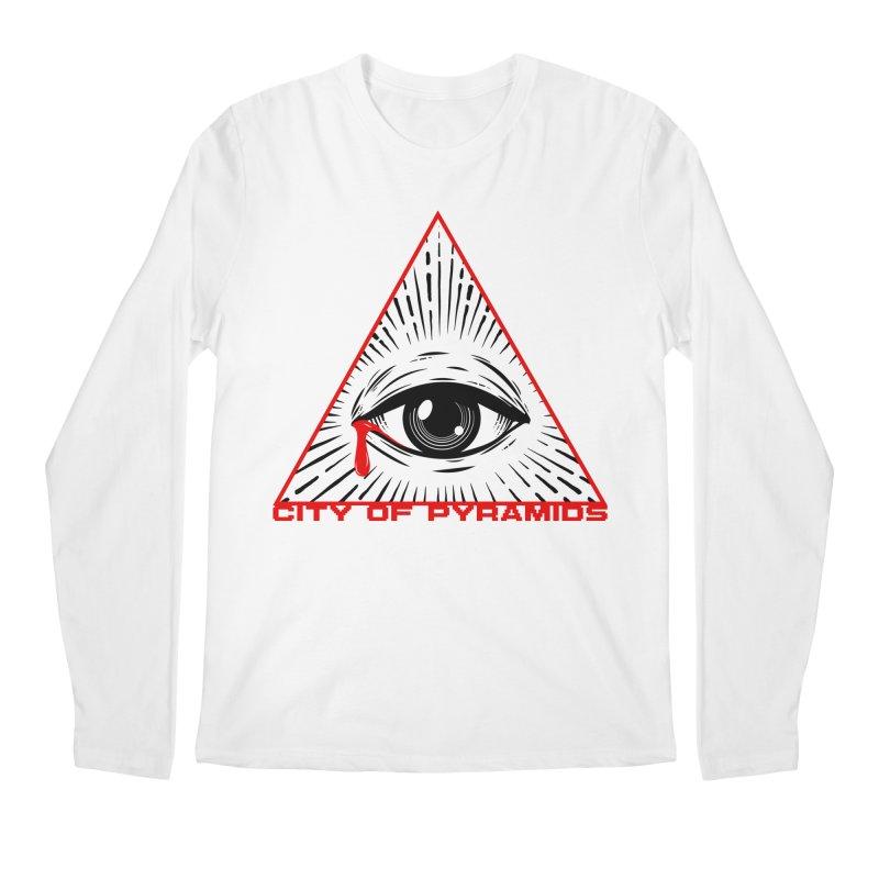 Eyeconic Tears Men's Regular Longsleeve T-Shirt by City of Pyramids's Artist Shop