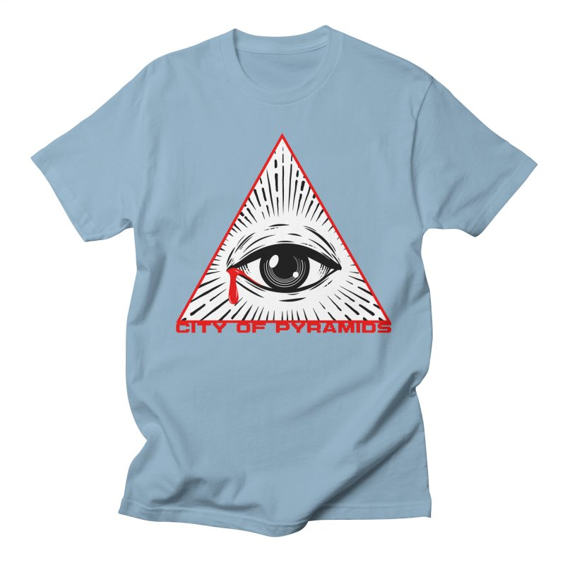 Eyeconic Tears Women's Regular Unisex T-Shirt by City of Pyramids's Artist Shop